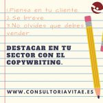Destacar en tu sector con el Copywriting.